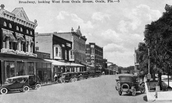 Downtown Ocala, 1910